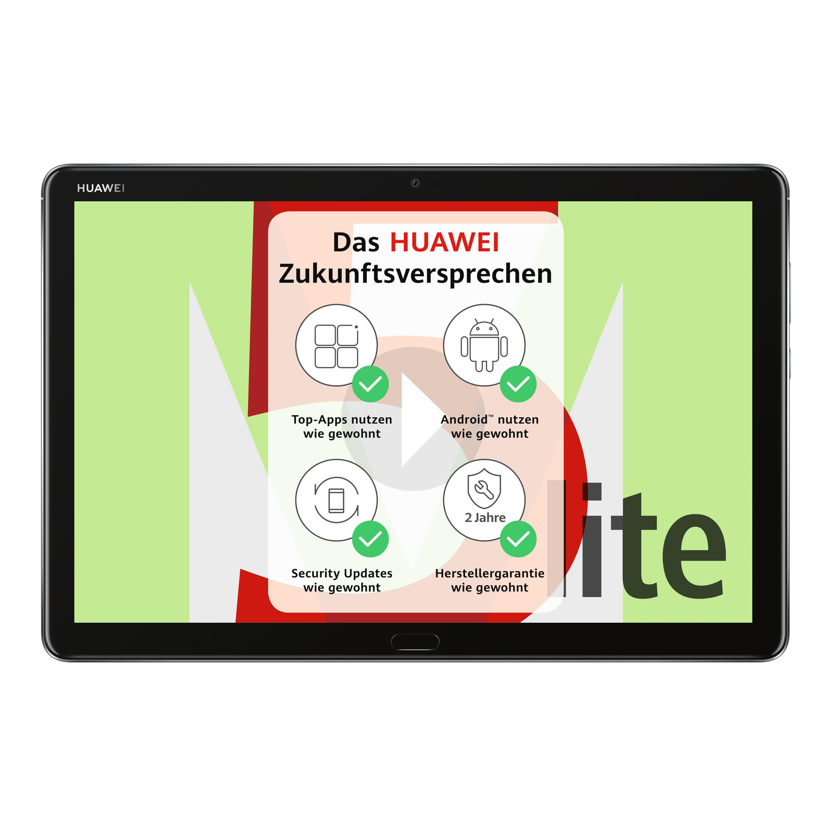 Mediapad M5 Lite - 10'' - Wifi - 4 Go / 64 Go - Gris Sidéral