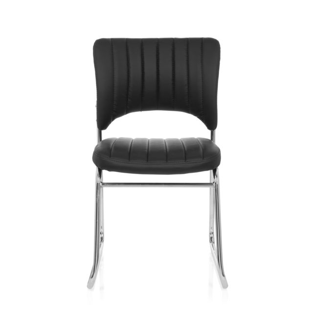 Hjh Office Chaise de conférénce Chaise visiteur Chaise