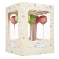 Kitchen Craft - Lot 2 boites cake pops à emporter