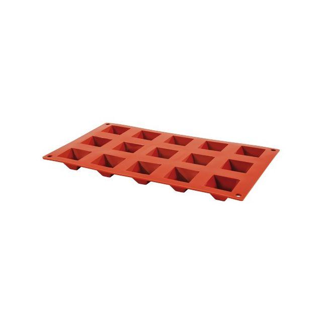Guery Moule silicone pyramide 15 empreintes