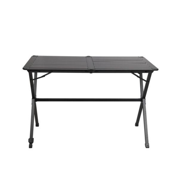 Midland - Table pliante Gap Less Noire 4 personnes - pas ...
