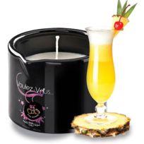 Voulez-vous - Bougie de massage gourmande Pina Colada - 180 gr
