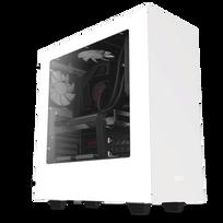 NZXT - Boitier PC ATX S340 Blanc