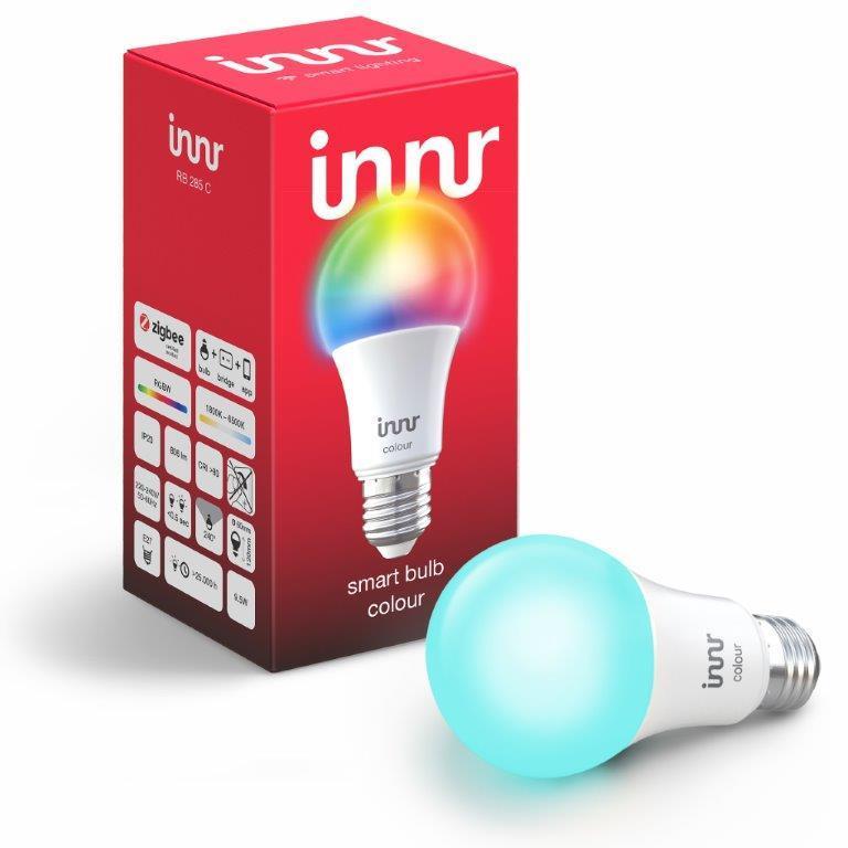 Ampoule connectée E27 - ZigBee 3.0 - RGB