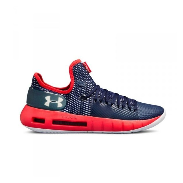 Under Armour Chaussure de Basketball Hovr Havoc Low Bleu