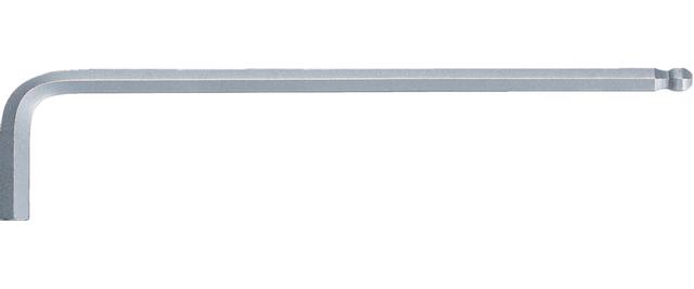 Cl/é m/âle brunie longue 6 pans  1,3 mm