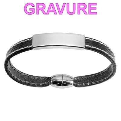 Bracelet homme 20 cm