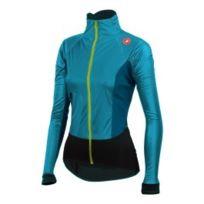 Castelli - Veste Cromor Light Rosso Corsa bleu turquoise femme