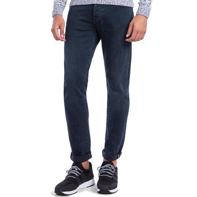 Tiffosi Jean bleu délavé Tyler 211 coupe tapered fit pour homme
