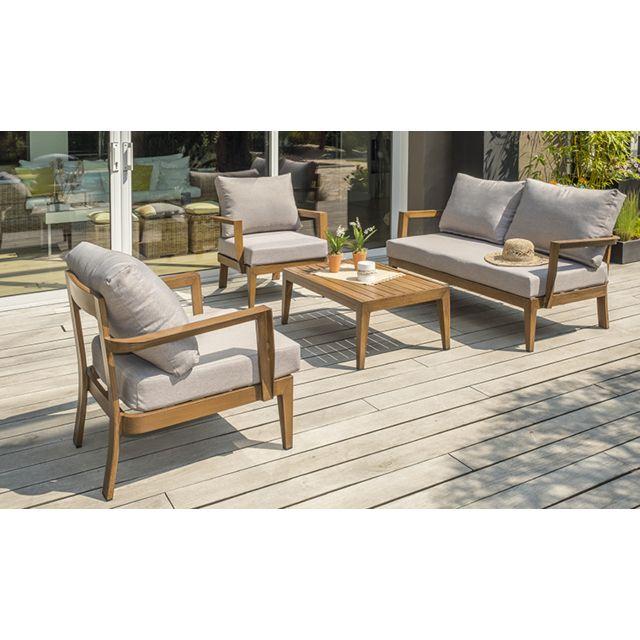 Canapé de jardin en bois