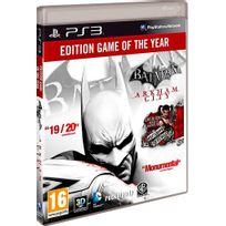 Warner Bros - Batman Arkham City edition jeu de l annee