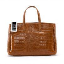 "Oh My Bag - Sac à Main femme cuir ""Façon Croco"" - Modèle Be Lady"