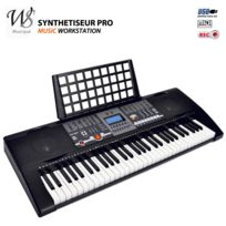 Ws - Synthetiseur electrique Clavier piano 61 touches Midi Usb
