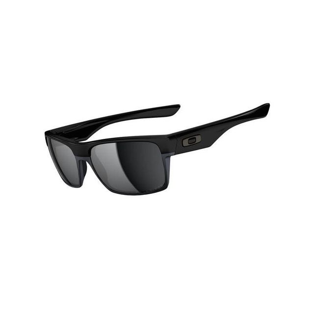 1e9b512f212f15 Oakley - Lunettes de soleil Twoface - Polished Black   Black Iridium Blanc  - pas cher Achat   Vente Lunettes Tendance - RueDuCommerce