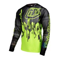Troy Lee Designs - Sprint Air Sram Tld - Maillot manches longues - Code jaune/noir