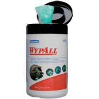 Kimberly Clark - Wypall Lingettes nettoyantes 27x27cm Box a 50 serviettes Par 6