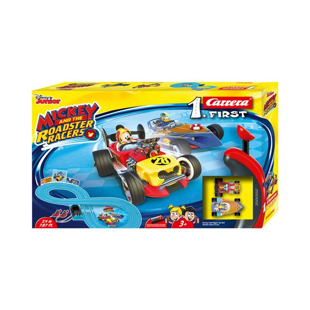 CARRERA Circuit First Mickey Roadsters Racers - 2,4 M