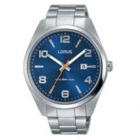 Lorus - Montre Homme modèle Classique Bleue et Argentée - Rh961GX9 - cadeau idéal