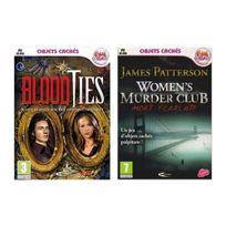 Mindscape - Pack 2 jeux Blood Ties et Jp Women's murder club - Pc