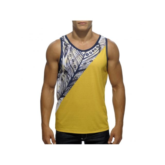 Pas Addicted Achat Tank Vente Homme Feather Cher Top Tee Shirt 0Ow8nPk