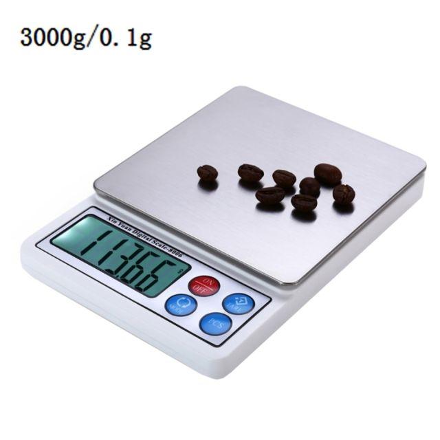 Wewoo balance de cuisine 2 2 pouces affichent l 39 chelle lectronique de haute pr cision de 0 - Balance de cuisine precision 0 1g ...