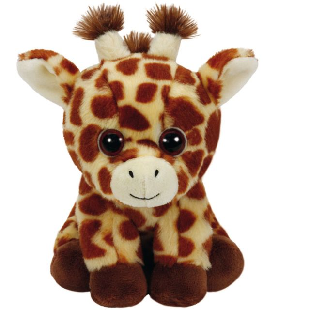 Speckles Beanie Boo - Peluche Beanie Boo s Small   Peaches La Girafe ... de4d315c4db