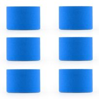 CAPITAL SPORTS - Bondies Kinesiologie Tape 6 rouleaux de 5m -bleu