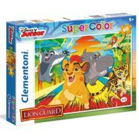 Clementoni - Puzzle 60 pièces : La Garde du Roi Lion Epic Roar