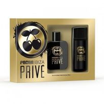 Pacha - Ibiza Prive Edt 50V+Gel 75Ml