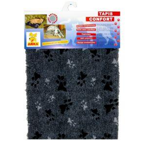 les animaux de la fee tapis sliky confort pour chien gris taille t 3 pas cher achat vente. Black Bedroom Furniture Sets. Home Design Ideas