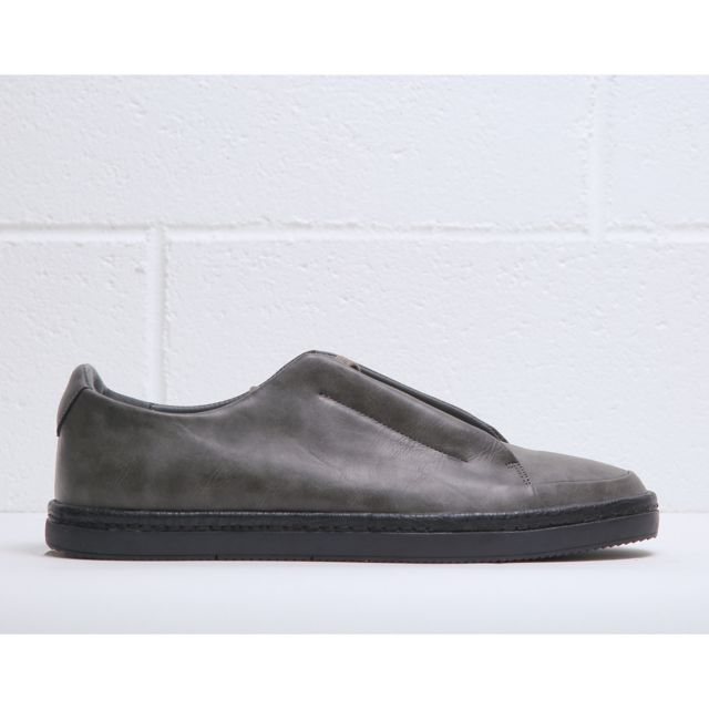 792d85a5e9a75 Buzzao - Chaussures de tennis basses à lacets gris Homme Duca di Morrone -  Stuart