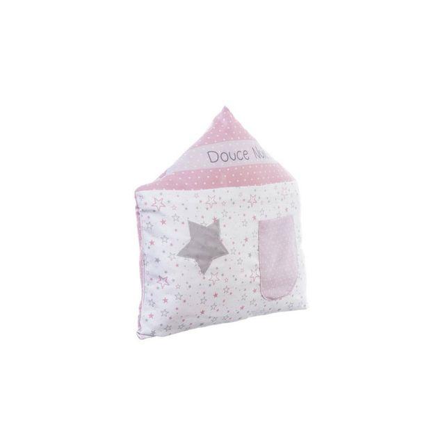 Jja - Coussin range pyjama rose Couleur