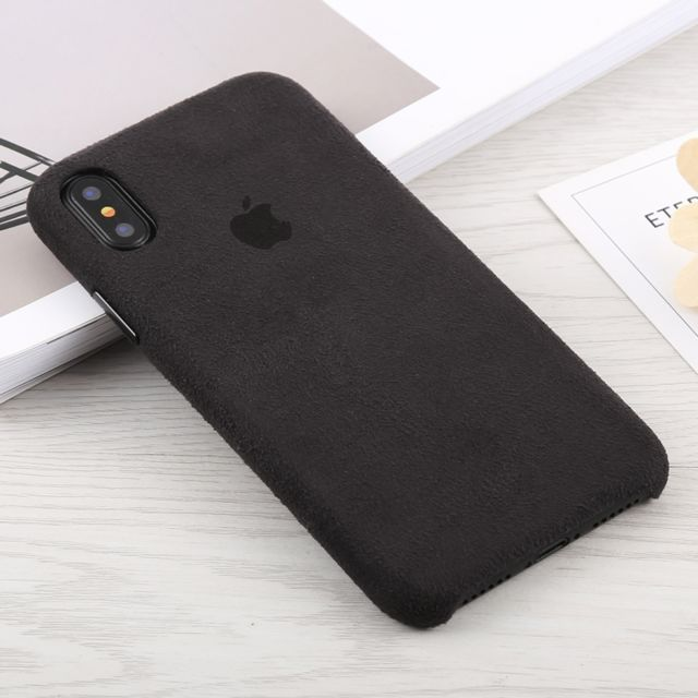 coque alcantara iphone x