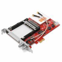 TBS - TBS6590 Carte PCI-e Double Tuner TV Universel Muti Standard avec Double CI Slot pour DVB-S2/S/S2X/DVB-T2/T/DVB-C2/C/ISDB-T pour la Réception TNT Satelite et Câble
