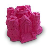 Totalcadeau - Moule à gâteau en silicone château fort