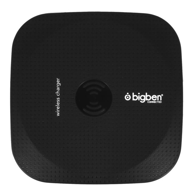bigben connected chargeur induction pour smartphone inducbaseb noir pas cher achat. Black Bedroom Furniture Sets. Home Design Ideas
