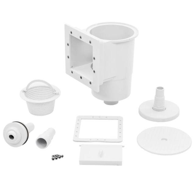 vidaXL Manche T/élescopique pour Piscine en Aluminium /Écumoires Nettoyage