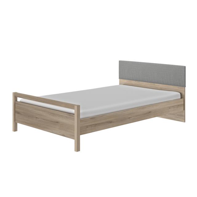 gami lit junior 120x200 ethan bois nccm x 200cm pas cher achat vente structures de lit. Black Bedroom Furniture Sets. Home Design Ideas