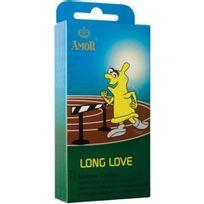 Amor - Preservatif Long Love Delay 12 Units