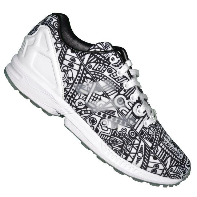 adidas flux zx noir et blanche