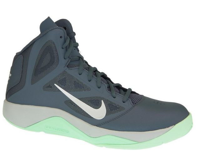hot sales 0cbf6 ab852 Nike - Nike Dual Fusion Bb Ii 610202-010 Homme Baskets Gris