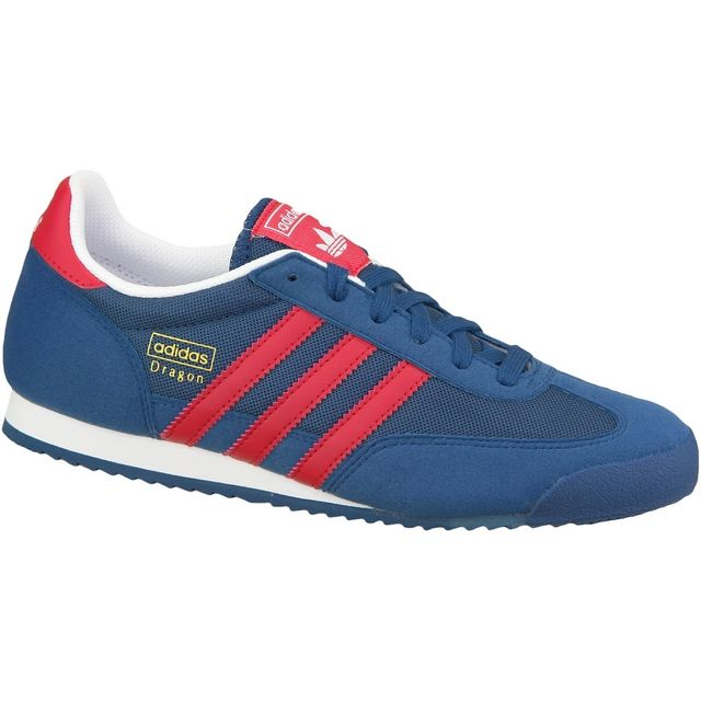adidas dragon bleu