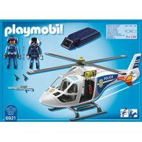Hélicoptère de police avec projecteur - 6921