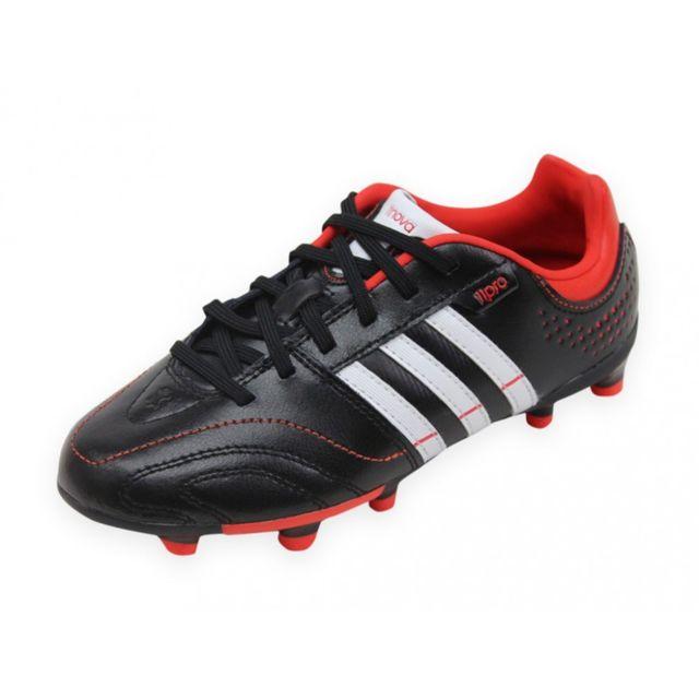 Adidas 11NOVA TRX FG J Chaussures Football Garçon Noir