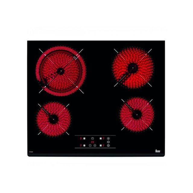 Teka Plaques vitro-céramiques 219605 6200W 60 cm Noir