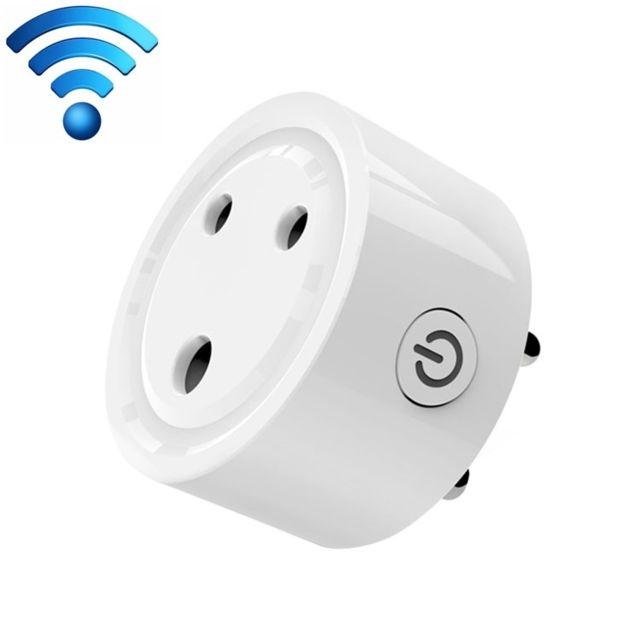 wewoo prise electrique connect e 10a mini smart wifi. Black Bedroom Furniture Sets. Home Design Ideas