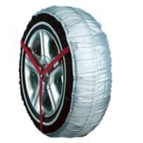 Picoya - Le montage est facile et rapide Idéal pour les voitures «non chainables » Utilisable avec les dispositifs de sécurité Trendy n'abîme ni le pneu, ni l'asphalte Simples d'utilisation, sans risque pour votre véhicule, efficaces sur neige et verglas