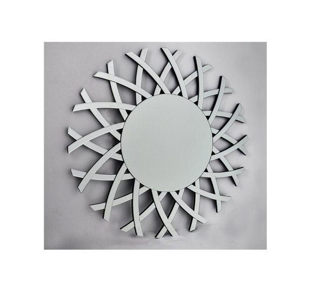 CHLOE DESIGN Miroir design maeva - argent