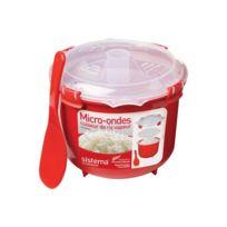 SISTEMA - Cuiseur riz vapeur micro-ondes