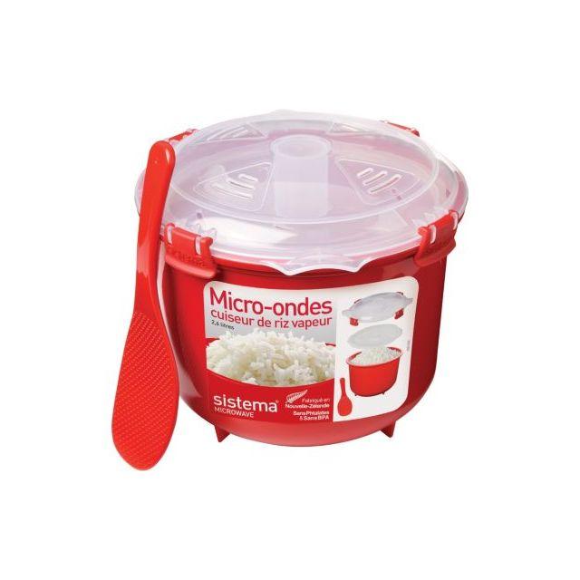 sistema cuiseur riz vapeur micro ondes clips 2 6 l pas cher achat vente papillote. Black Bedroom Furniture Sets. Home Design Ideas